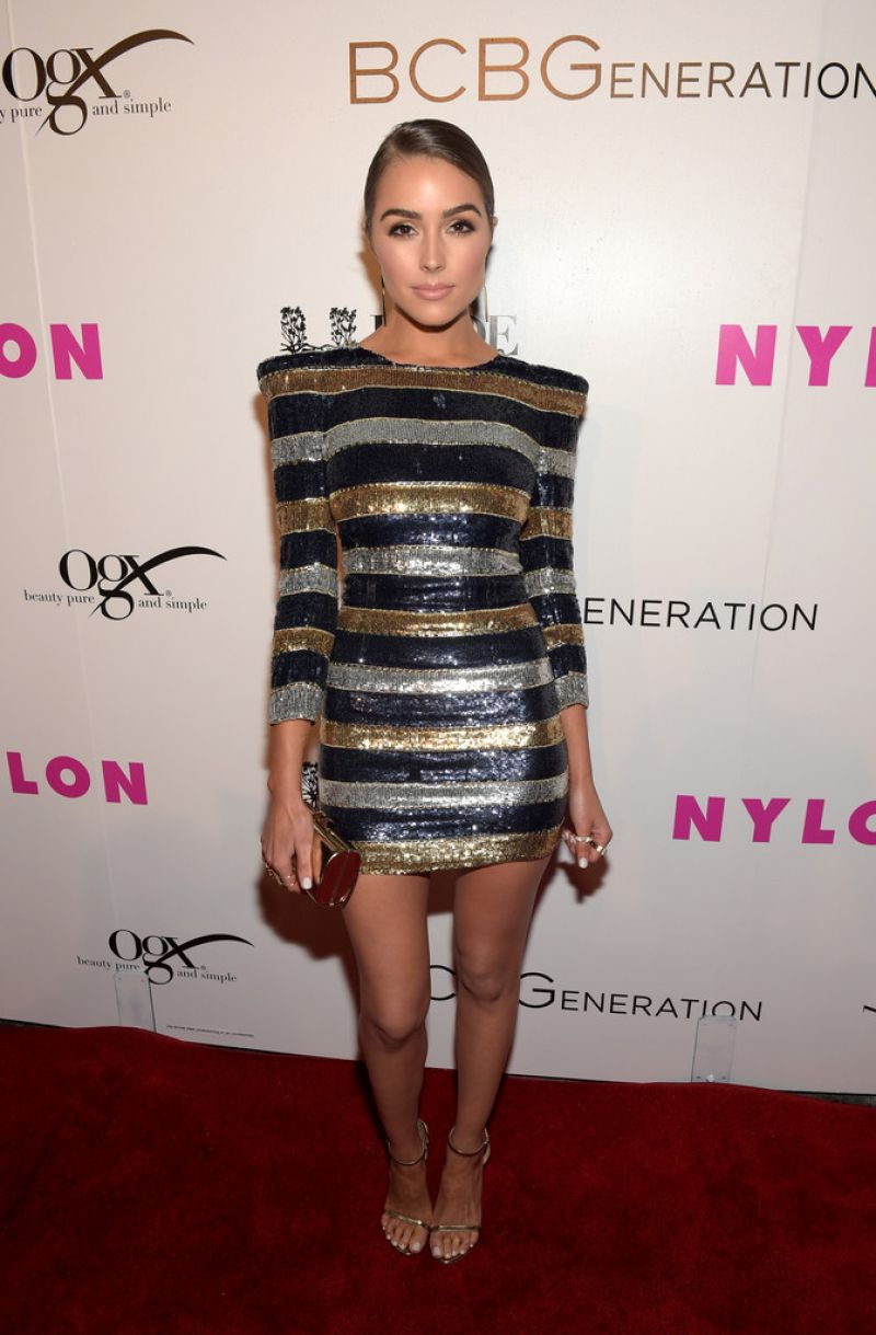 OLIVIA CULPO at Nylon Young Hollywood Party in Hollywood