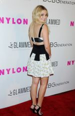 OLIVIA HOLT at Nylon Young Hollywood Party in Hollywood