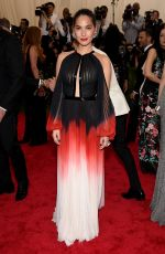 OLIVIA MUNN at MET Gala 2015 in New York