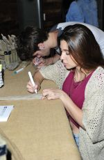 OLIVIA STUCK at Pottery Barn Teen Launch Event in Los Angeles