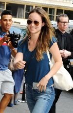 OLIVIA WILDE Arrives at Her Hotel in New York