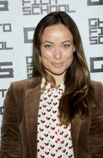 OLIVIA WILDE at Ghetto Film School Table Reading Spring 2015 in New York