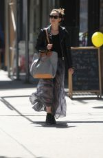 OLIVIA WILDE Out and About in New York 04/30/2015