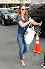 OLIVIA WILDE Out and About in New York 05/06/2015