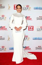 OLYMPIA VALANCE at Logie Awards in Melbourne