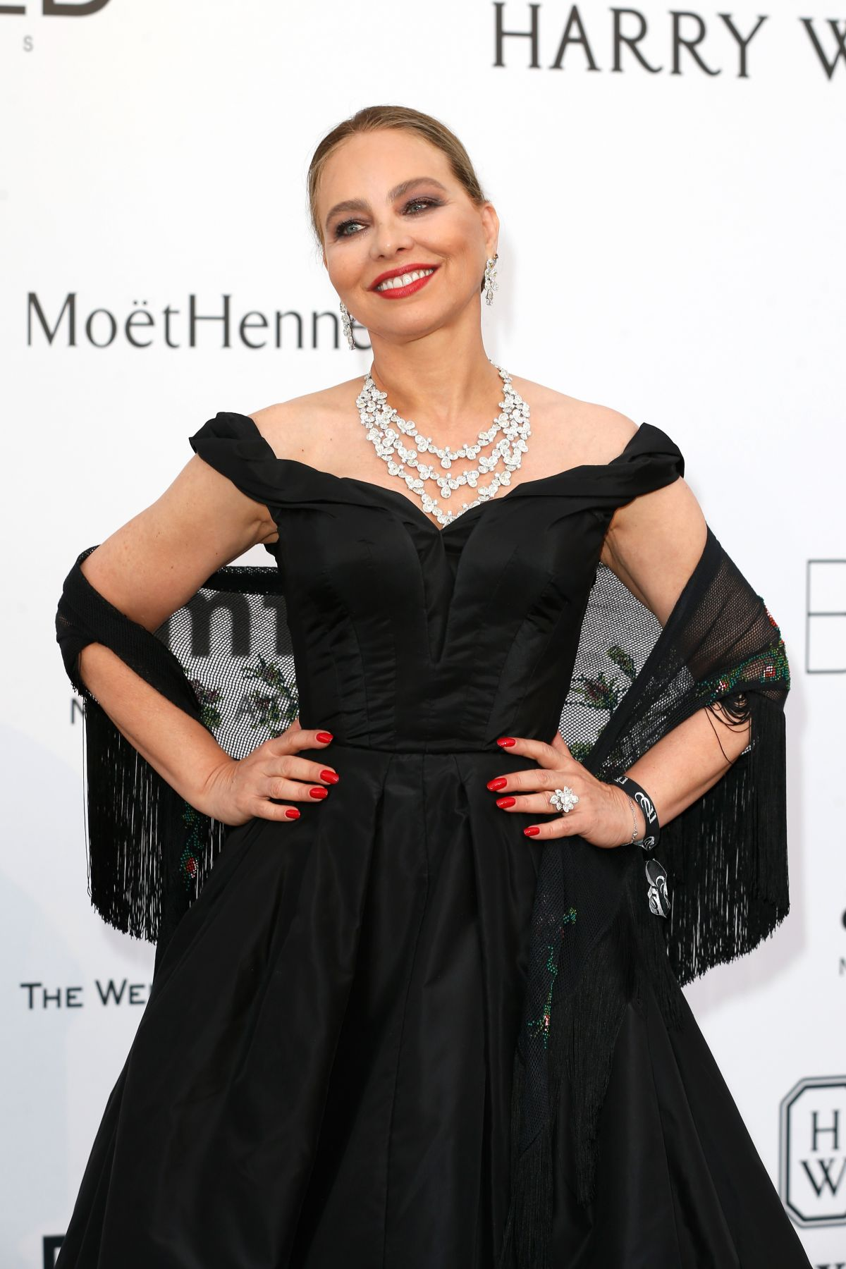 ORNELLA MUTI at Amfar's 2015 Cinema Against Aids Gala in Cap d'Antibes