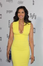 PADMA LAKSHMI at 2015 NBC/Universal Cable Entertainment Upfront in New York