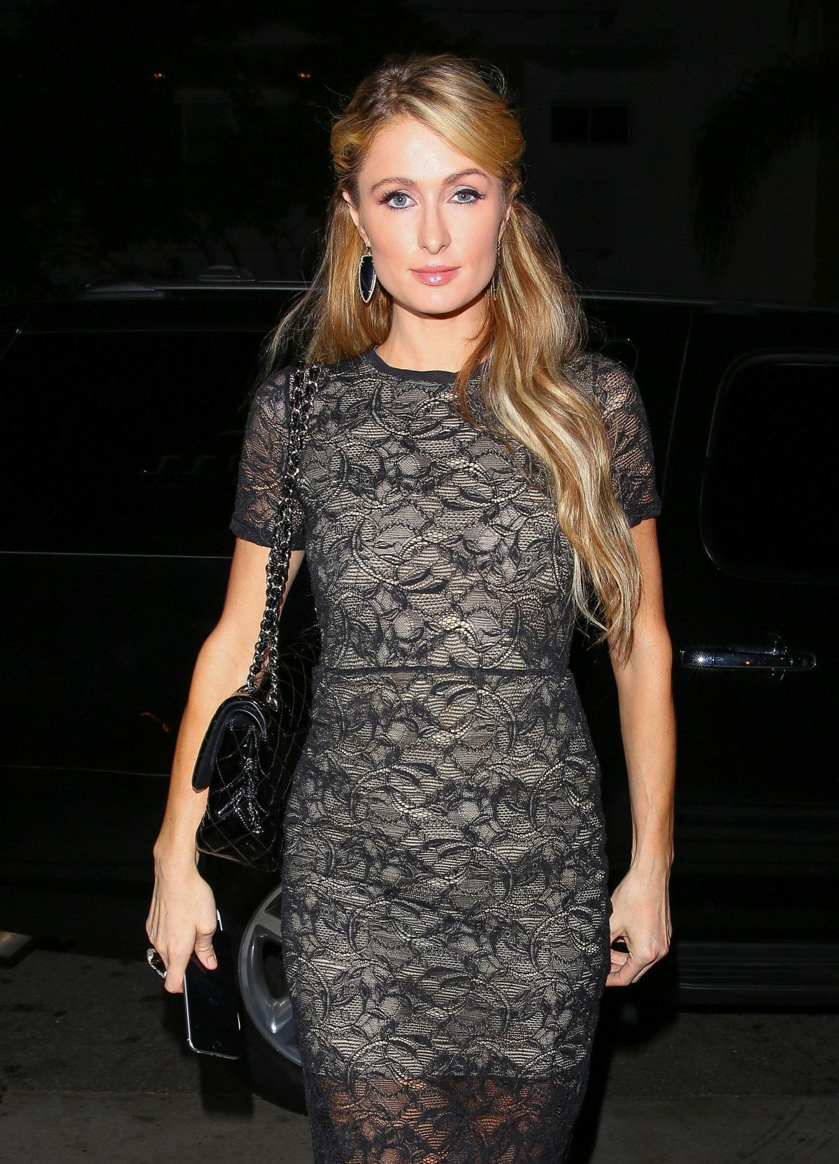 PARIS HILTON Arrives at Palms in Beverly Hills 05/10/2015 - HawtCelebs ... Paris Hilton