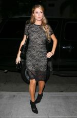 PARIS HILTON Arrives at Palms in Beverly Hills 05/10/2015
