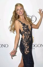 PARIS HILTON at De Grisogono Party in Cannes
