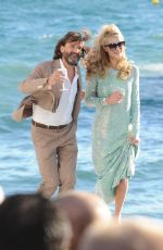 PARIS HILTON at Grand Journal TV Show in Cannes