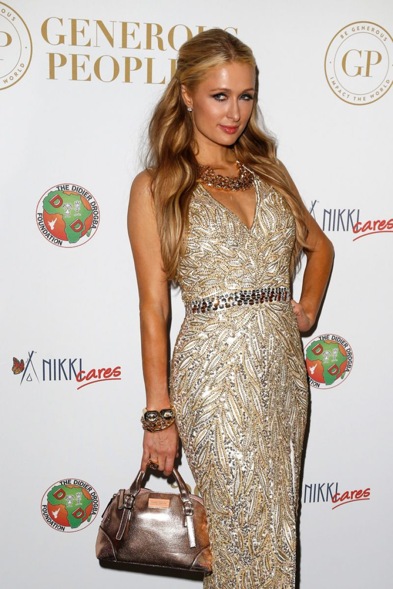 PARIS HILTON at Heart Fund Party at Cannes Film Festival