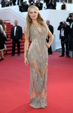PARIS HILTON at Inside Out Premiere at Cannes Film Festival