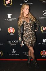 PARIS HILTON at JW Marriott Hotel VIP Room in Cannes