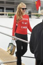 PARIS HILTON Out and About in Cannes 05/21/2015