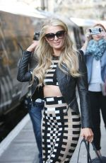 PARIS HILTON Out and About in Liverpool 05/13/2015