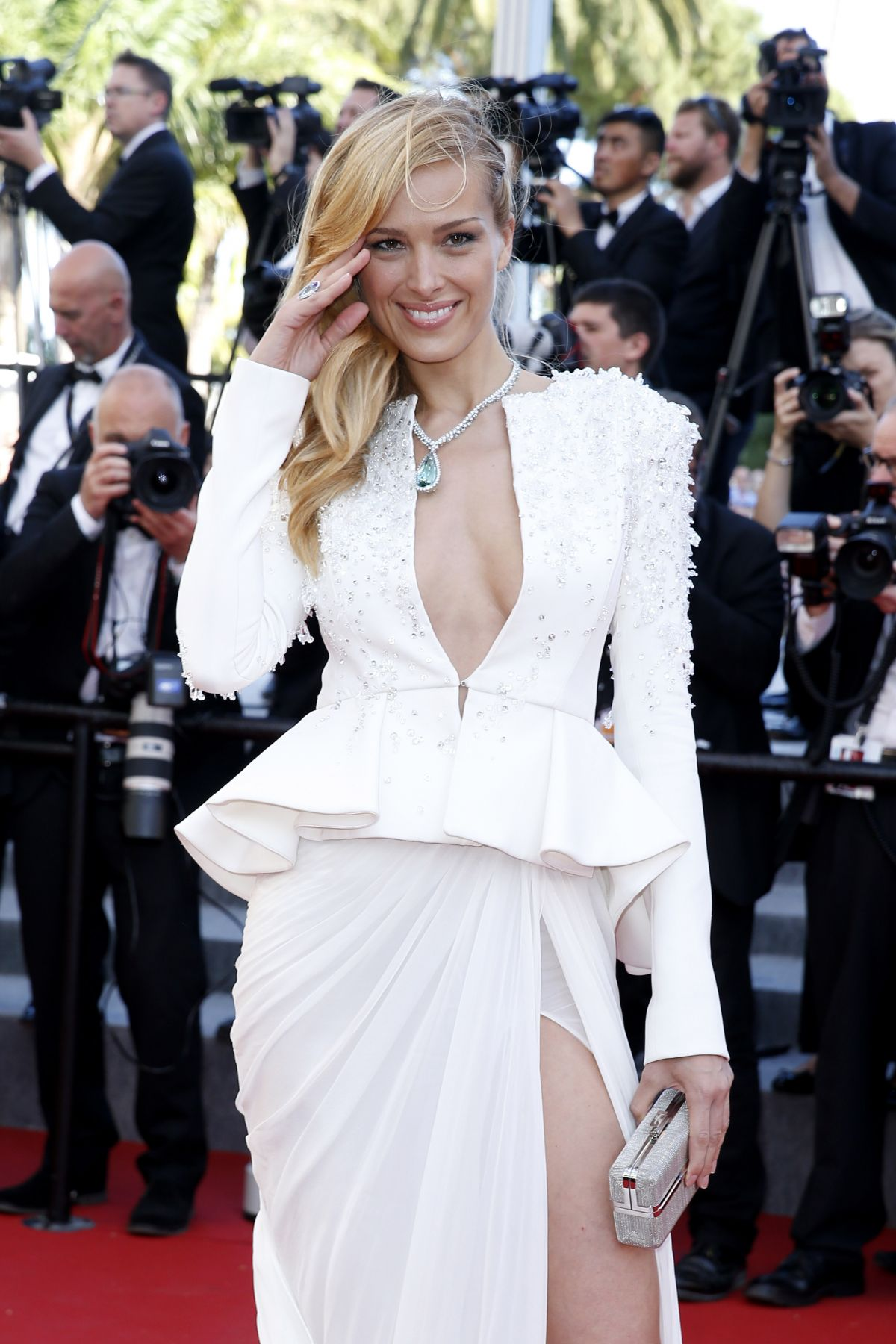 PETRA NEMCOVA at Youth Premiere at Cannes Film Festival