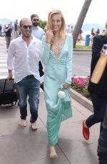 PETRA NEMCOVA Out and About in Cannes 05/23/2015