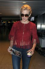 PIXIE LOTT Arrives at Heathrow Airport in London 05/22/2015