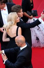 PIXIE LOTT at Dheepan Premiere at Cannes Film Festival