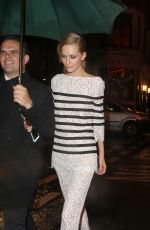 POPPY DELEVINGNE Leaves The Ivy in London 05/15/2015