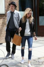 POPPY DELEVINGNE Out and About in New York 05/05/2015