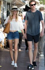 POPPY DELEVINGNE Out in Cannes 05/18/2015