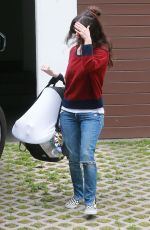 RACHEL BILSON Visits A Friend in Los Feliz 05/16/2015