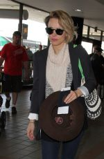 RACHEL MCADAMS at LAX Airport in Los Angeles 07/05/2015