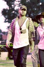 RACHEL MCADAMS at Stagecoach Country Music Festival in Indio