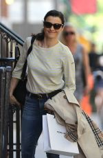 RACHEL WEISZ Out and About in New York 05/07/2015