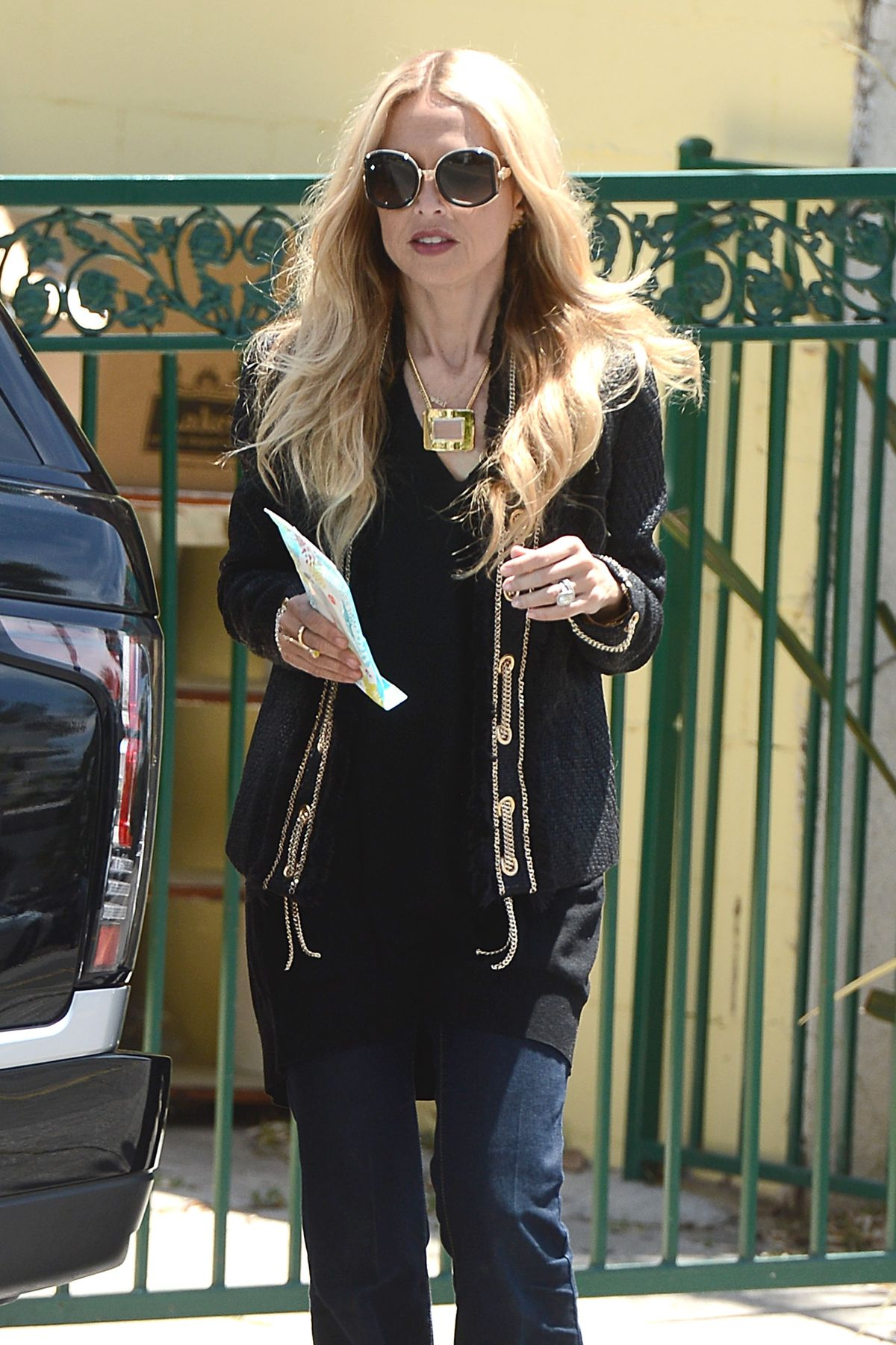 RACHEL ZOE Out and About in West Hollywood 04/30/2015