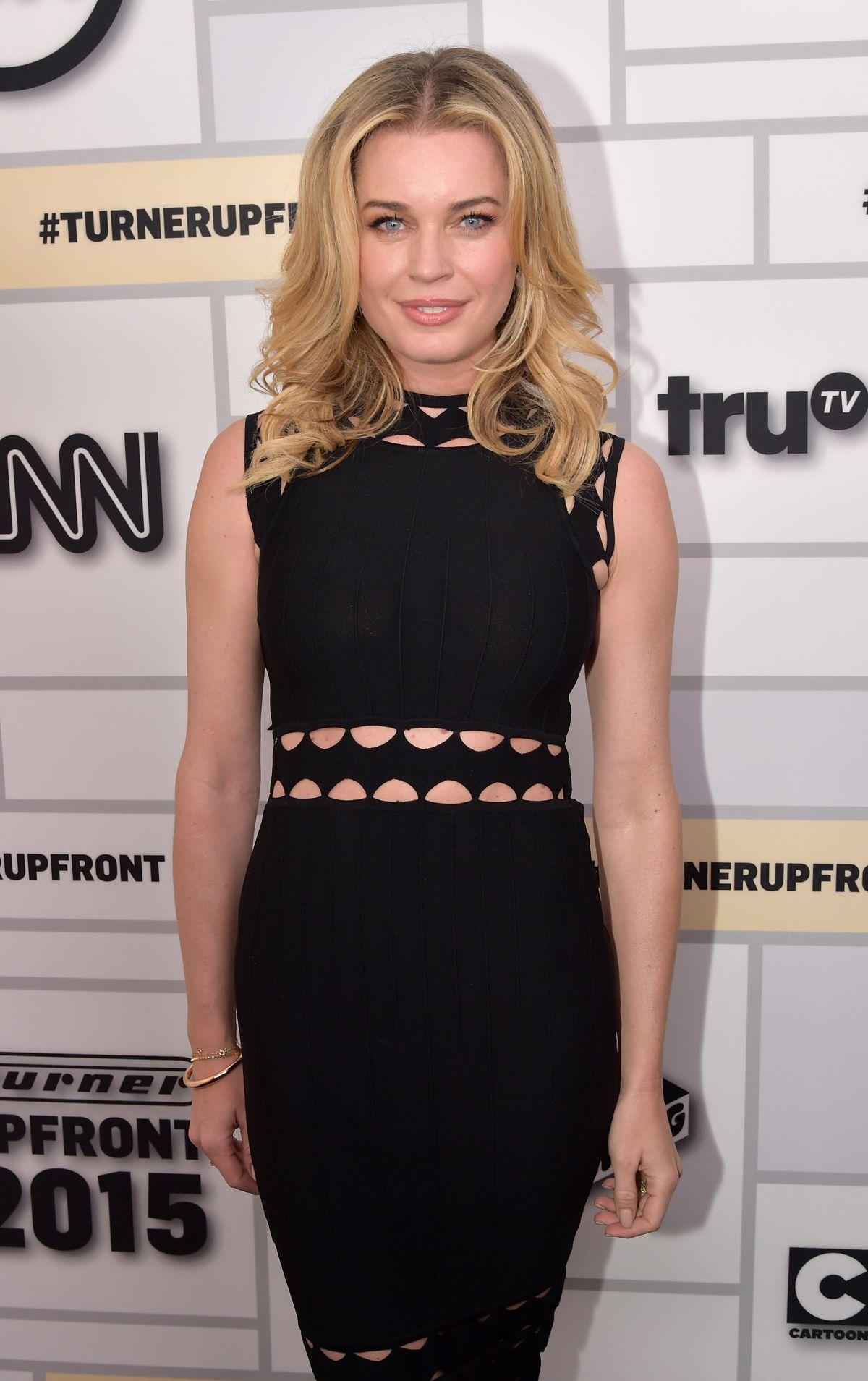 Rebecca romijn at tturner upfront 2015 in new york - Rebecca romijn measurements ...