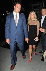 REESE WITHERSPOOM Arrives at Saturday Night Live in New York 05/09/2015