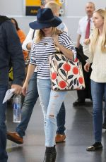 REESE WITHERSPOON Arrives at JFK Airport in New York 05/03/2015