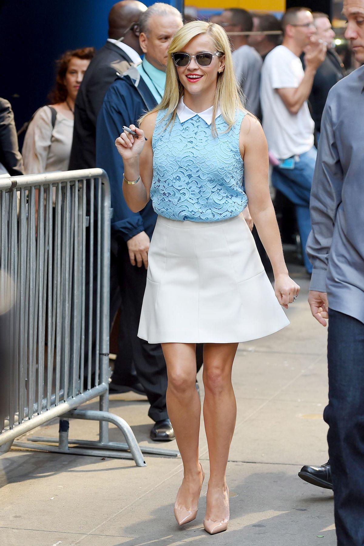 Good Morning America Latest News : Reese witherspoon at good morning america in new york