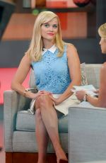 REESE WITHERSPOON at Good Morning America in New York 05/04/2015