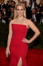 REESE WITHERSPOON at MET Gala 2015 in New York