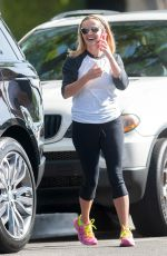 REESE WITHERSPOON in Spandex Out in Los Angeles 05/11/2015