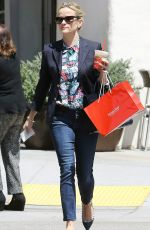 REESE WITHERSPOON Out and About in Beverly Hills 05/12/2015