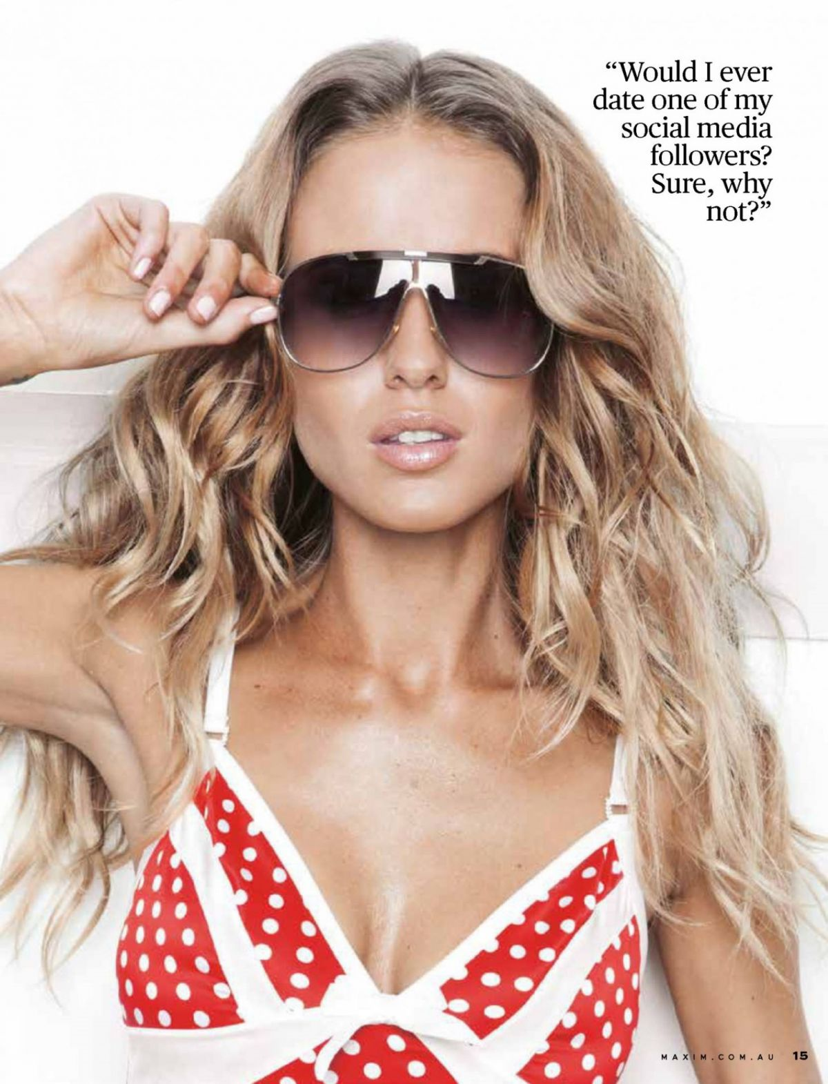 RENEE SOMERFIELD in Maxim Magazine, Australia May 2015 Issue