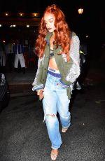 RIHANNA Arrives at Da Silvano Restaurant in New York 05/24/2015