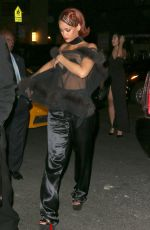 RIHANNA Arrives at MET Gala After Party in New York