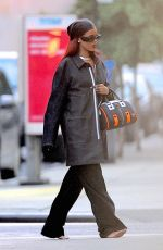 RIHANNA Barefoot Out and About in New York 05/16/2015