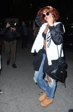 RIHANNA Night Out in New York 05/02/2015