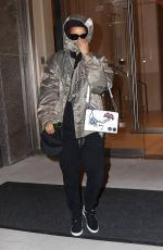 RIHANNA Out and About in New York 05/19/2015