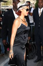 RIHANNA Out in New York 05/04/2015