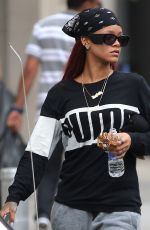 RIHANNA Out in New York 05/16/2015