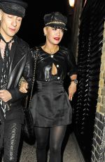 RITA ORA Arrives at Chiltern Firehouse in London 05/28/2015