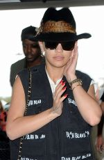 RITA ORA Arrives at JFK Airport in New York 05/06/2015